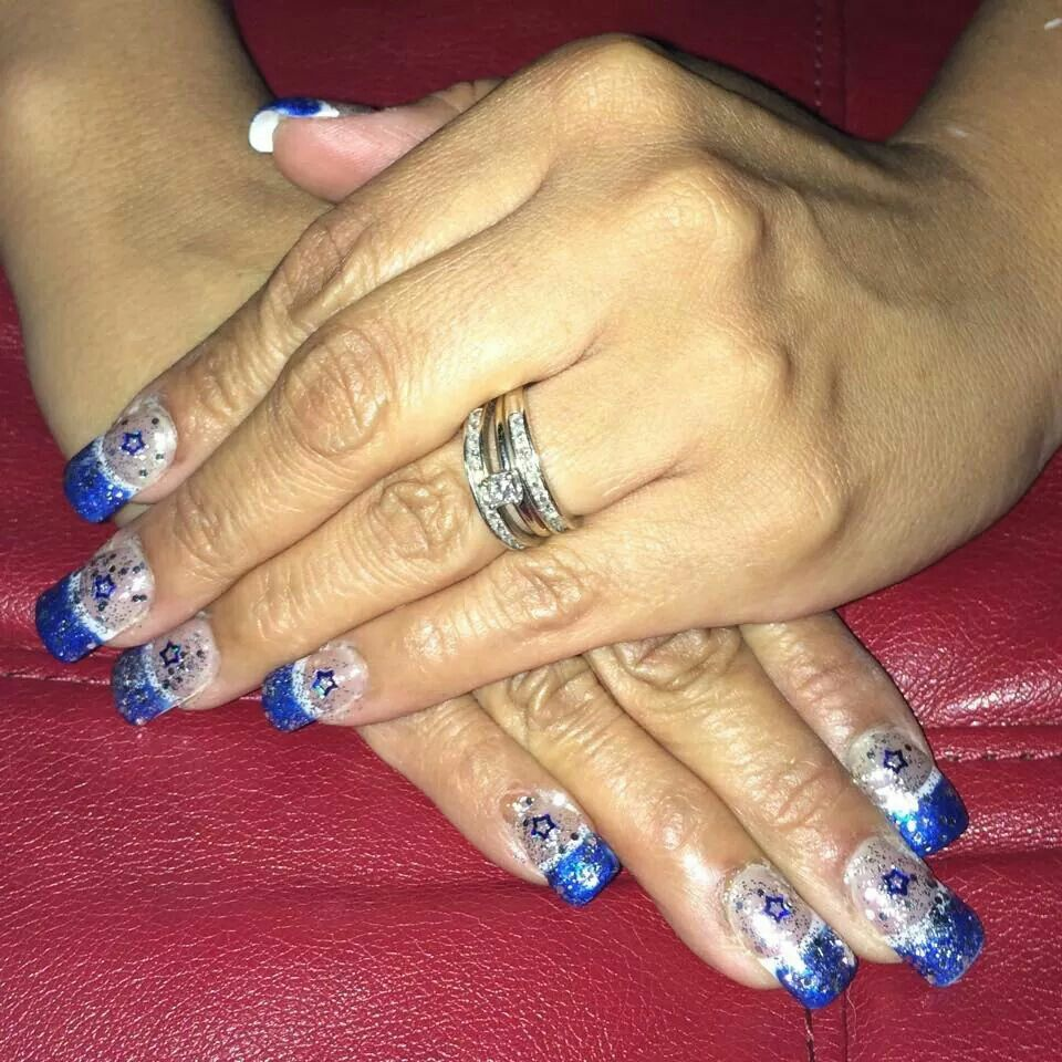 Beautiful Dallas Cowboys nails Design | Beauty/nails | Pinterest ...