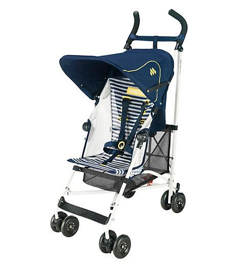 Maclaren Nautical Stripe Volo Stroller with Mesh Seat - Perfect ...