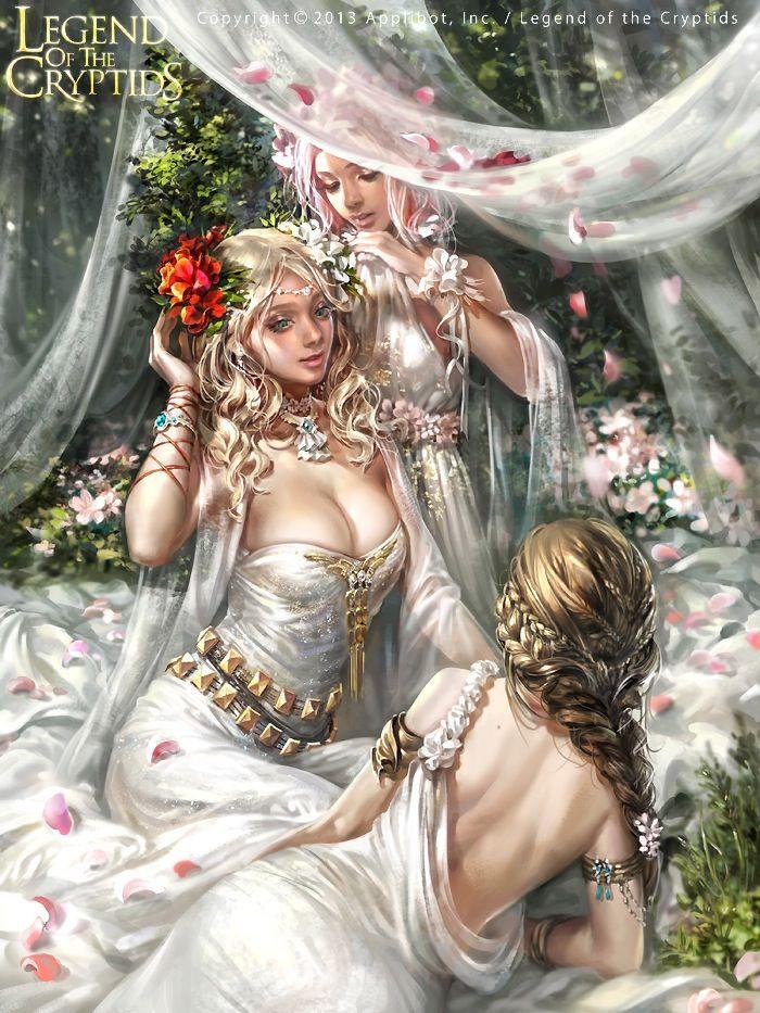 Fantasy Women Art Sisters