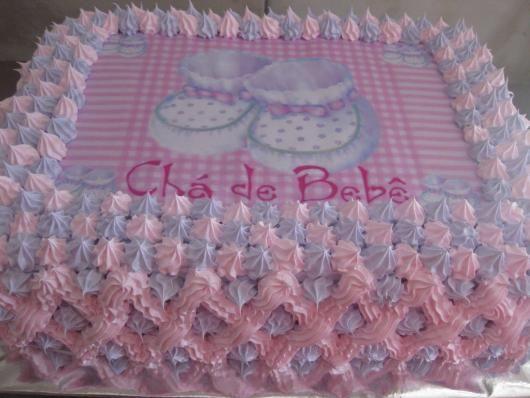 86 Bolos De Cha De Bebe Lindos E Deliciosos Receita Passo A