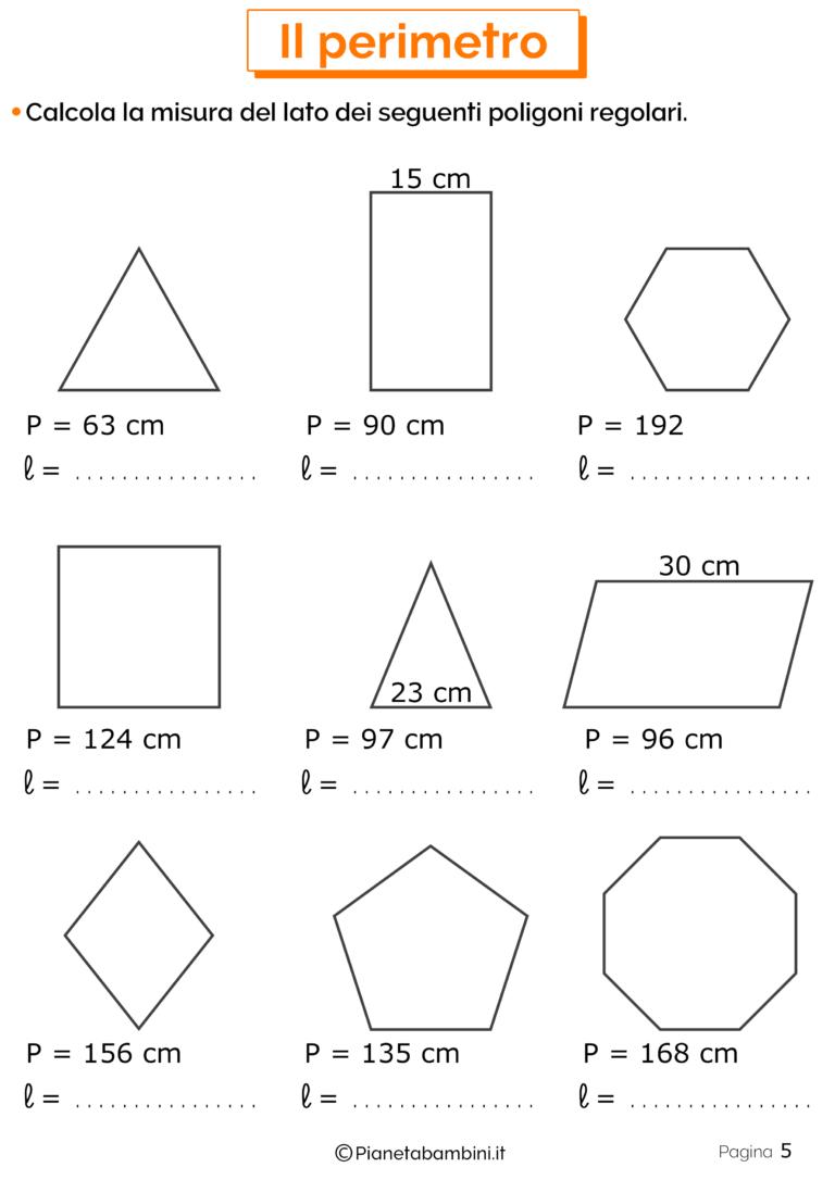 Esercizi sul Perimetro per la Scuola Primaria | Matematyka ...