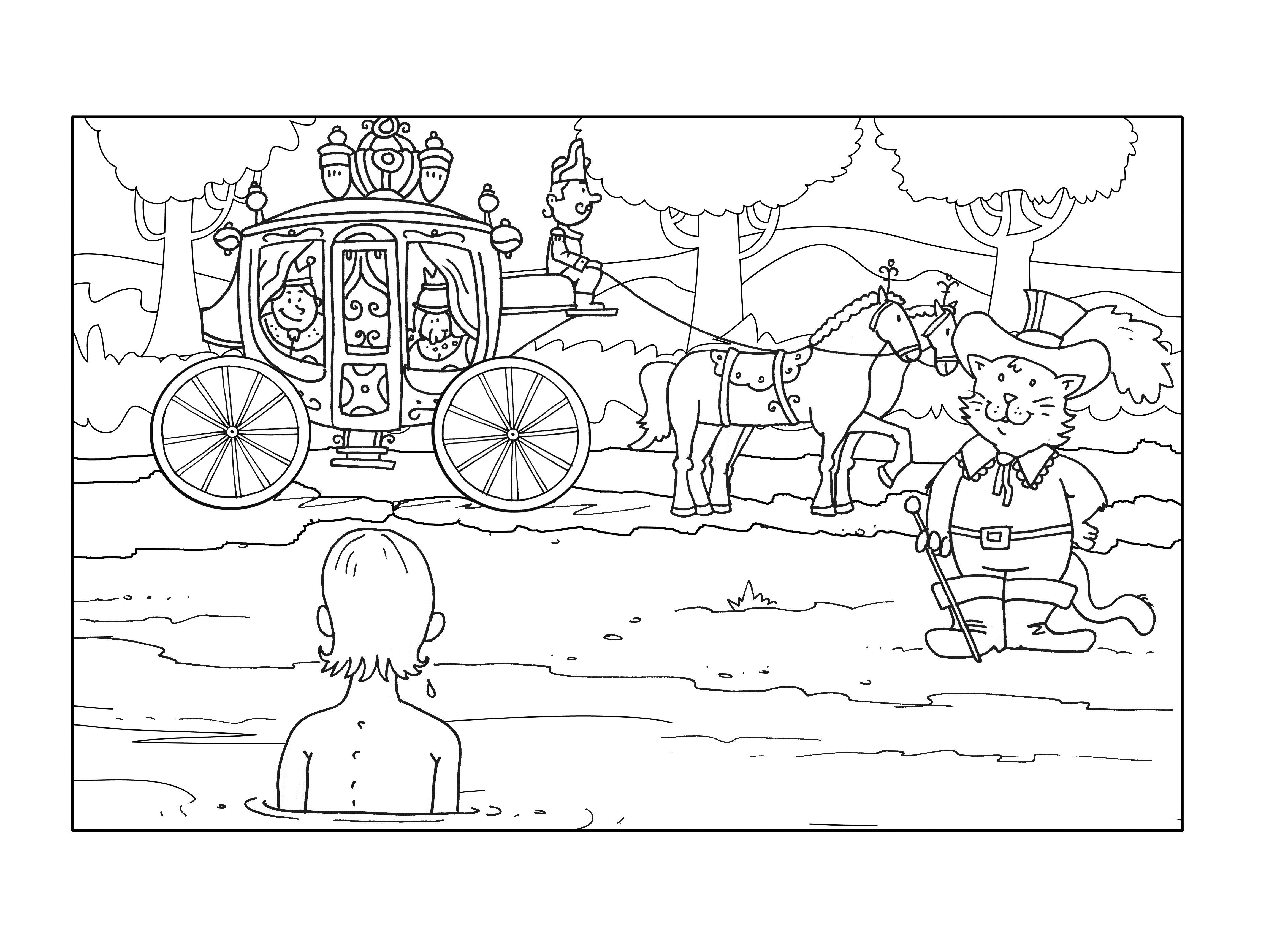 Ausmalbild Prinz und Prinzessin | Ausmalbilder für kreative Kinder ...