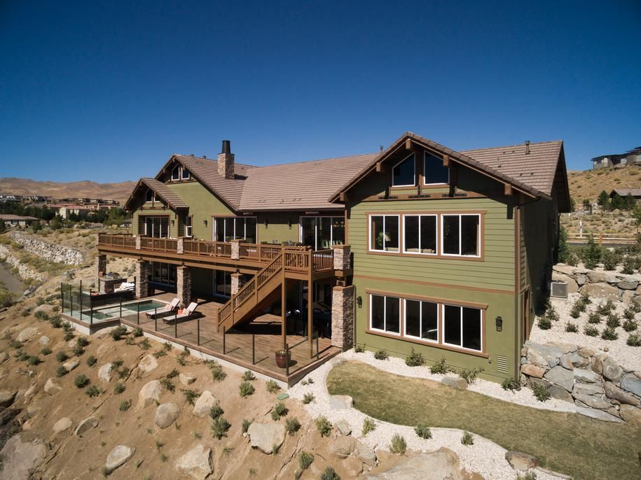 The Ranier Model Home From Boulders At Somersett Reno Nv Luxury Homes Model Homes Home