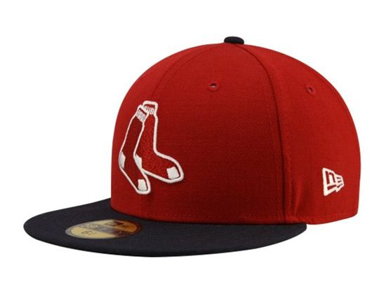 9aa85e0df3f Two Tone Boston Red Sox 59Fifty Fitted Cap by NEW ERA x MLB ...