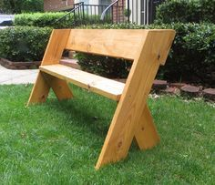 Diy Tutorial 16 Simple Outdoor Wood Bench Outdoor Wood