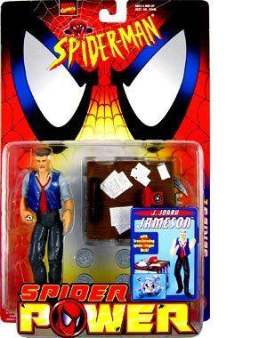 SPIDERMAN CLASSICS  J. JONAH JAMESON  MOC @ niftywarehouse.com #NiftyWarehouse #Spiderman #Marvel #ComicBooks #TheAvengers #Avengers #Comics