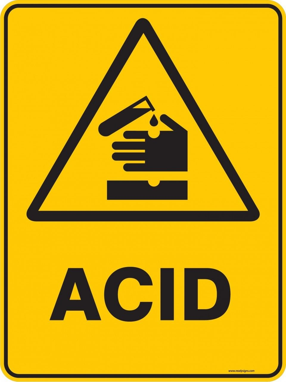 Warning sign acid warning signs warning signs buycottarizona Image collections
