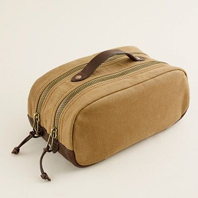 98d8d7dbfa0c for Ben  jcrew dopp kit. this or leather ! can t decide...what do you think   Jennifer Howard