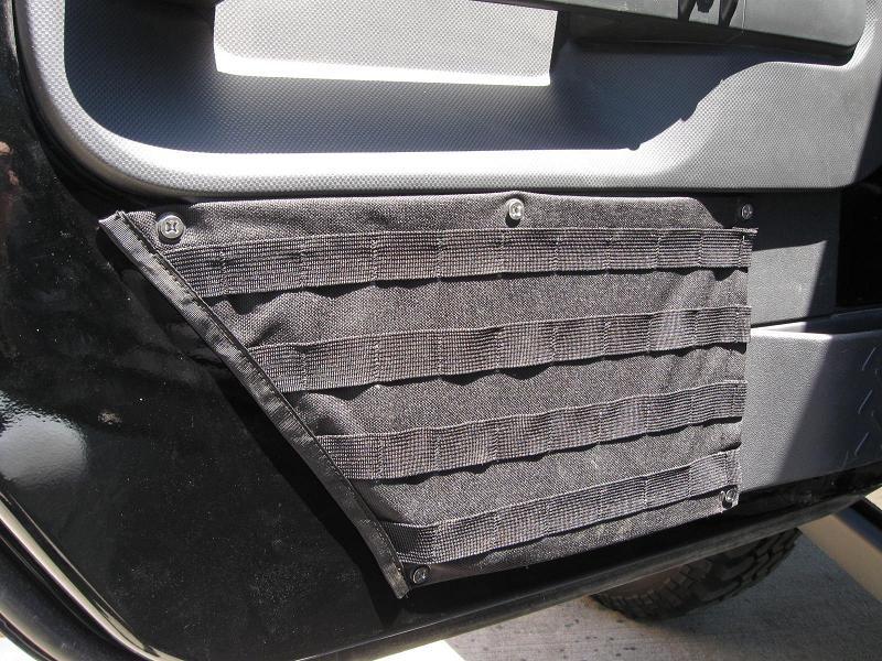 Jeep Storage Ideas Raingler Jeep Jk Tactical Molle Door