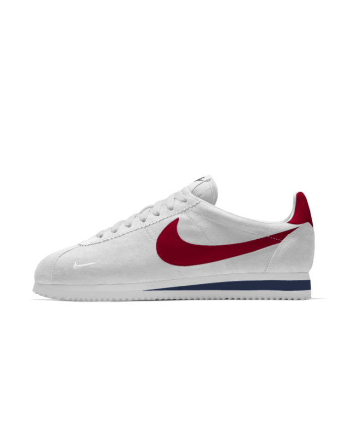 Nike Cortez iD White/Gym Red/Midnight Navy Men's Shoe