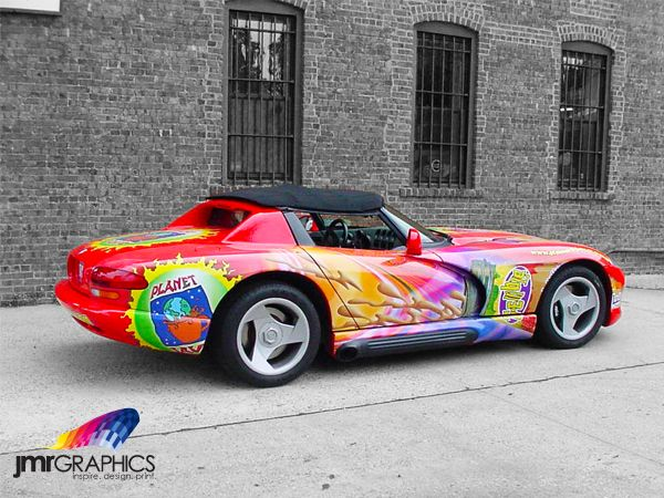 Check out this awesome Digital Car Wrap for Planet Java! | Car and ...