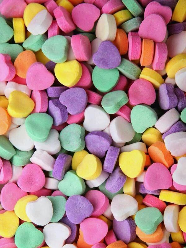 be mine. valentine conversation hearts background | Love ...