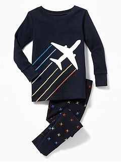 6aeaafb58 Airplane-Graphic Sleep Set for Toddler & Baby | Cute kiddo clothes ...