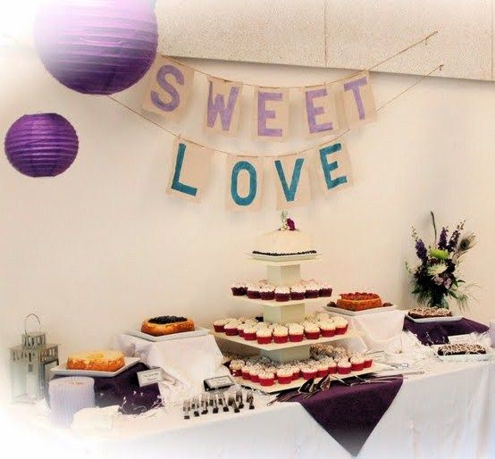 A Wedding Sweets Table...