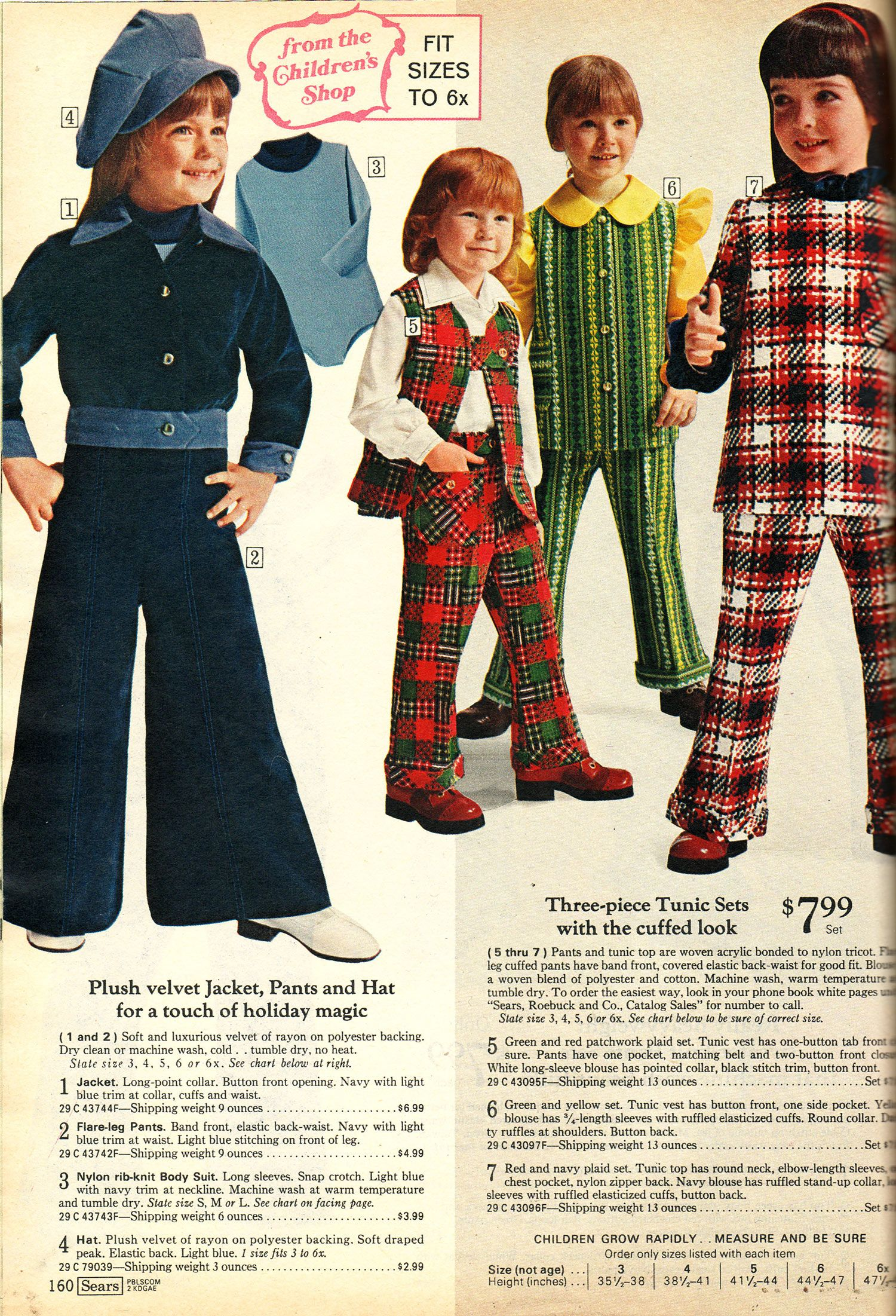 49f80183e29a Plaid Stallions   Rambling and Reflections on  70s pop culture  From the  Children s Shop