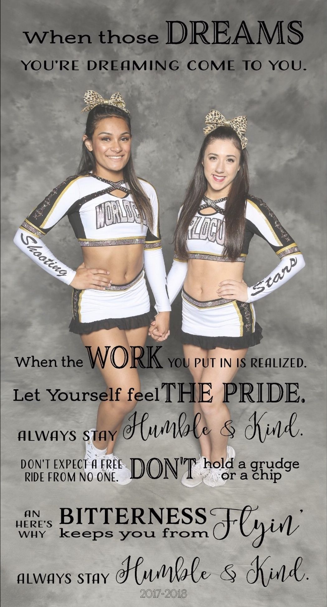 World Cup Shooting Stars Cheer Gifts Humble And Kind With Images Allstar Cheerleading Cheer How Are You Feeling