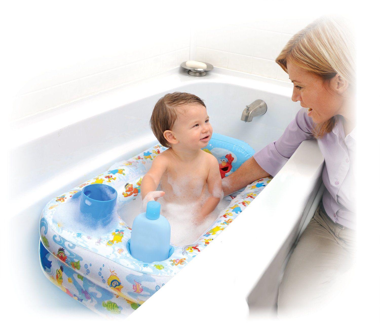 Sesame Street Inflatable Bathtub $13.62 {reg. $29.99} | Babies ...