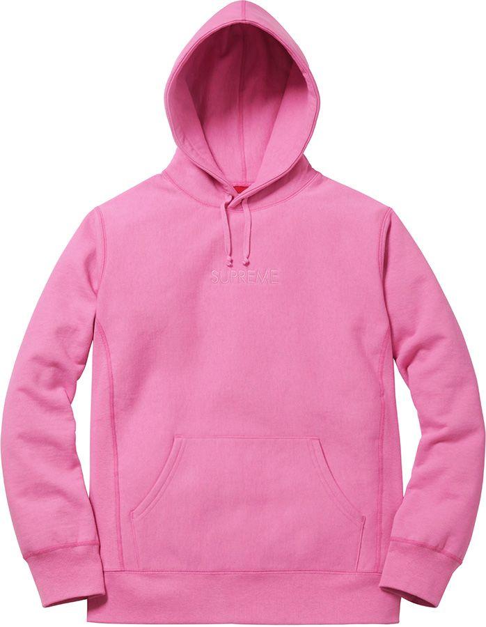 866b2055 Supreme Tonal Embroidered Hooded Sweatshirt | Sweaters in 2019 ...