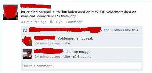 Shut up muggle.