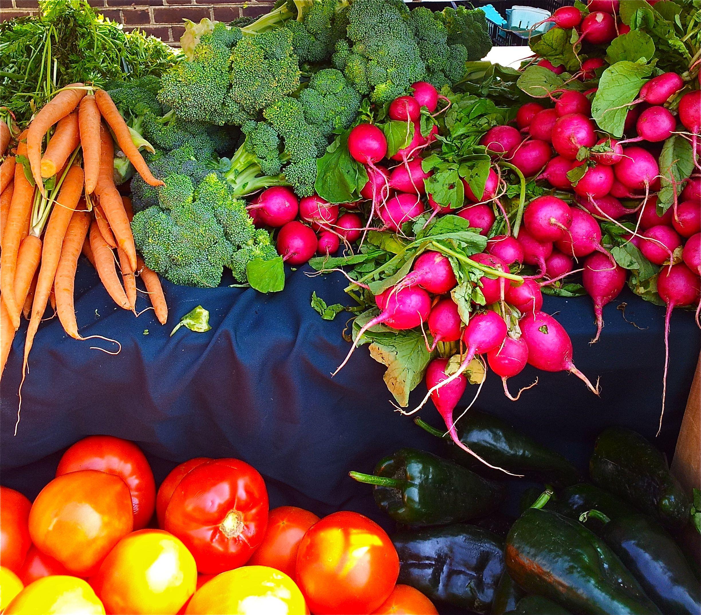 Hello...Carrots, Radishes, Broccoli, Tomatos Oh My