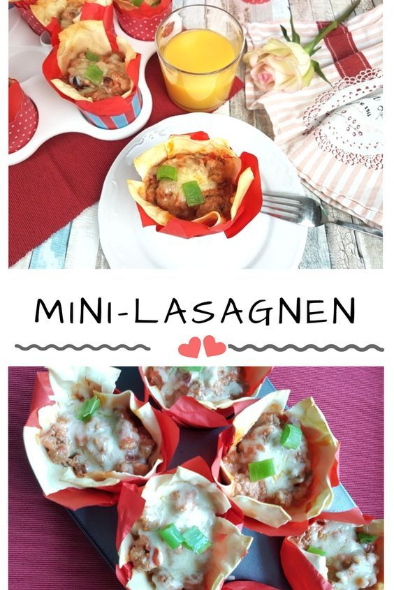 Partyrezept: Mini-Lasagne in Muffinformen – mit myBAKERY Plus