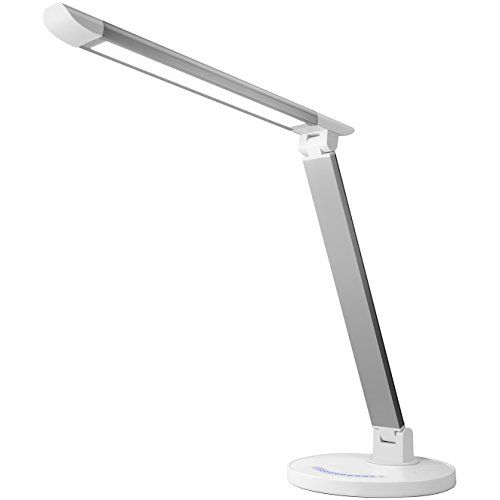 Lux Led Dimmable Led Desk Table Lamp Touch Sensitive Control 5 Level Brightness 4 Temperature Setting Color Modes Dea Dimmable Led Touch Lamp Lamp