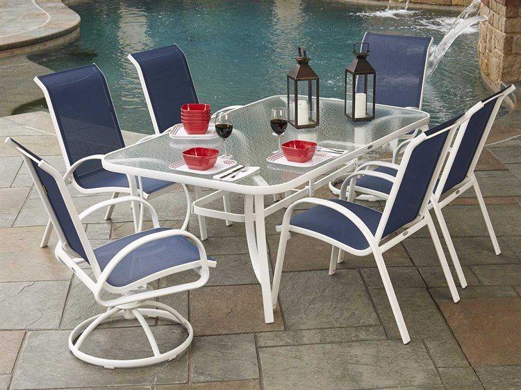 16++ White aluminum dining set Trend