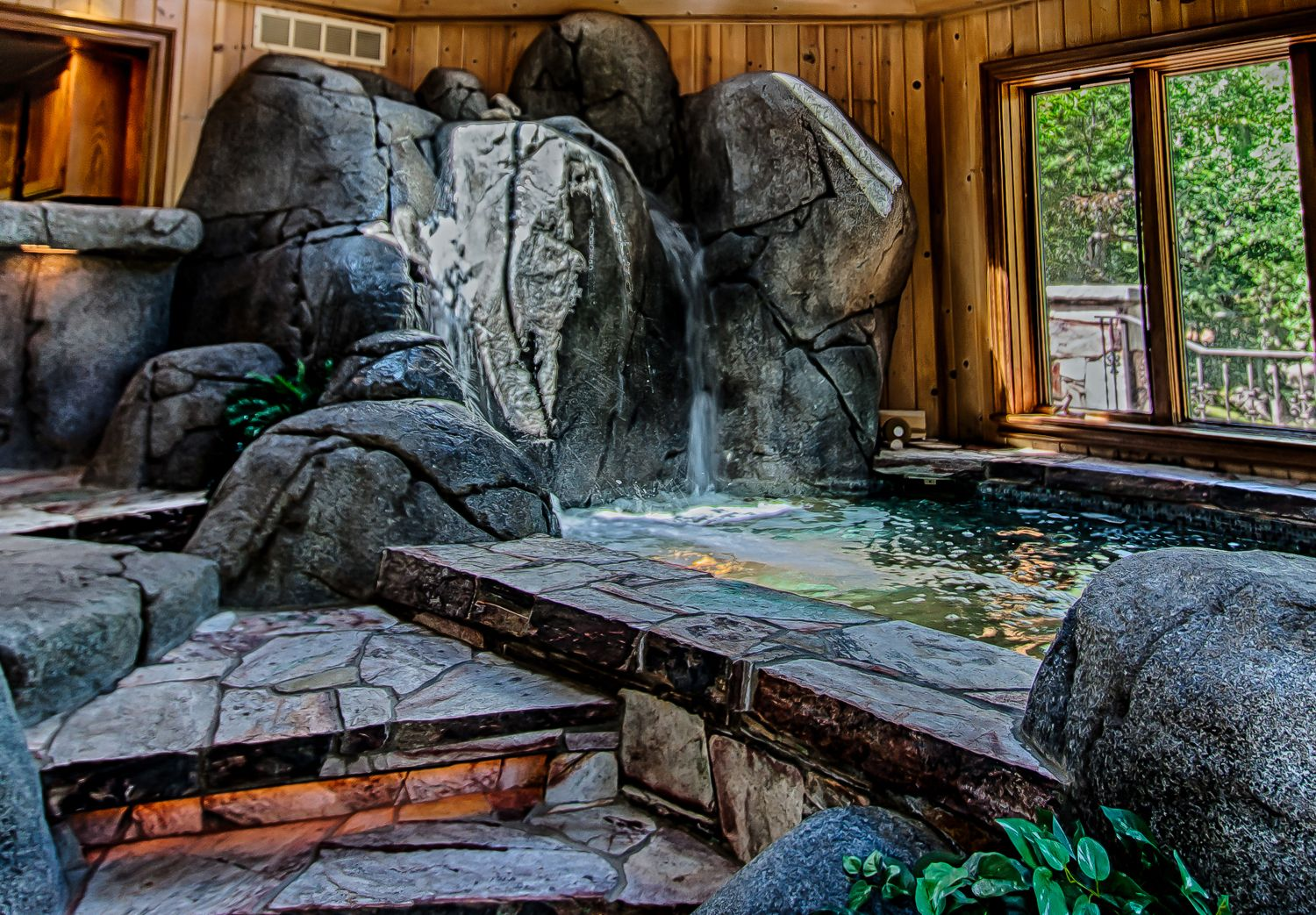 Image result for indoor hot tub | hot tubs zzzzzz! | Pinterest | Hot ...