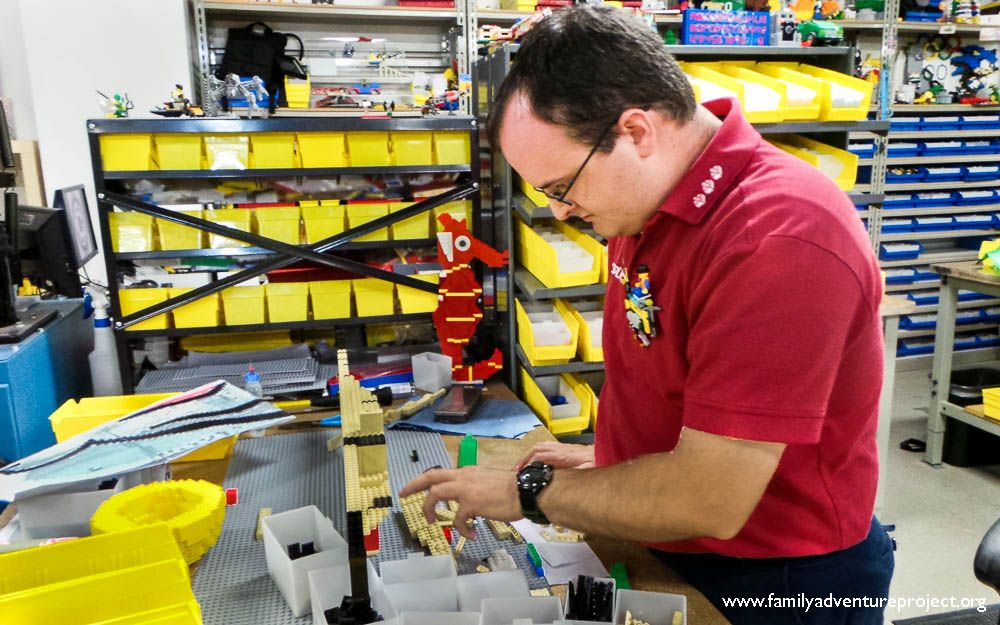 Behind the scenes with Legoland Master Builders