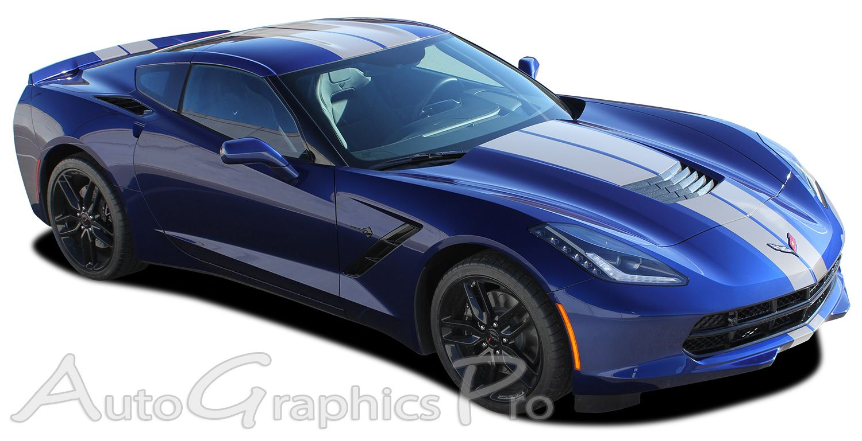 20142019 Chevy Corvette C7 Racing Stripes RALLY STRIPE