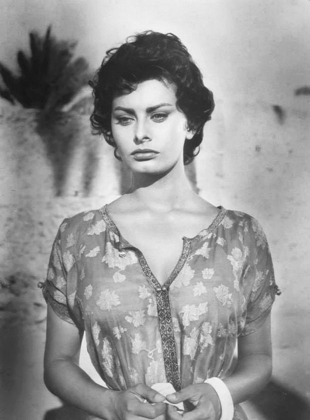 Photo Foto Actrice Italienne Sophia Loren Format 10x15cm réfC785