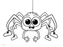 Image Result For Cute Halloween Coloring Pages Spider Coloring Page Halloween Coloring Pages Halloween Coloring