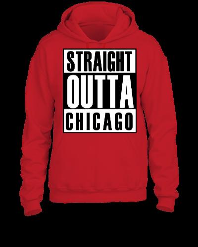 Straight Outta Chicago - UNISEX HOODIE