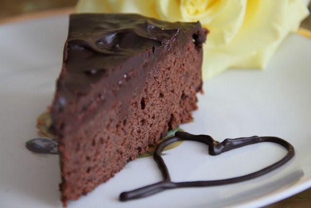 Poľné kvety: Čokoládová torta - narodeninová