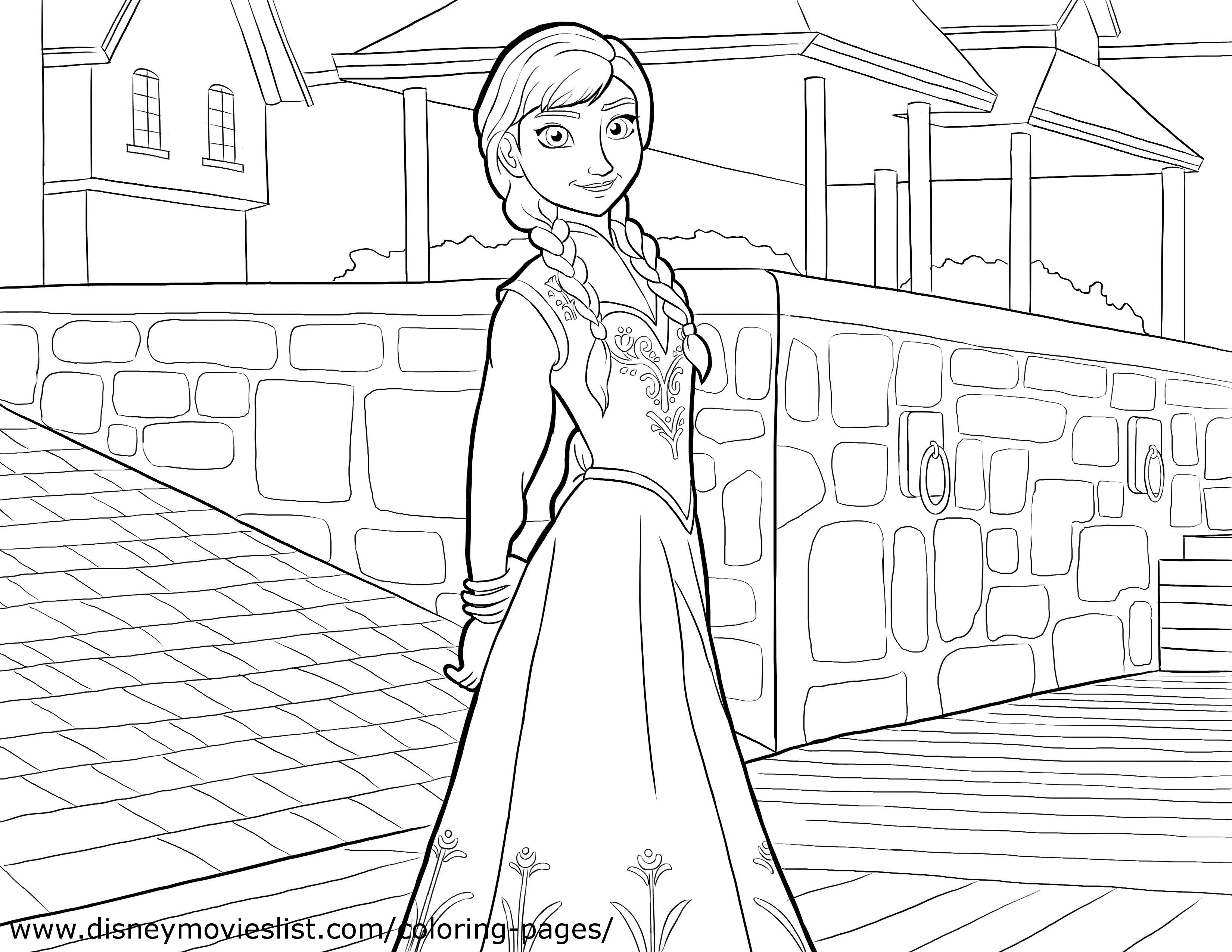 Mooi Gratis Kleurplaten Elsa En Anna
