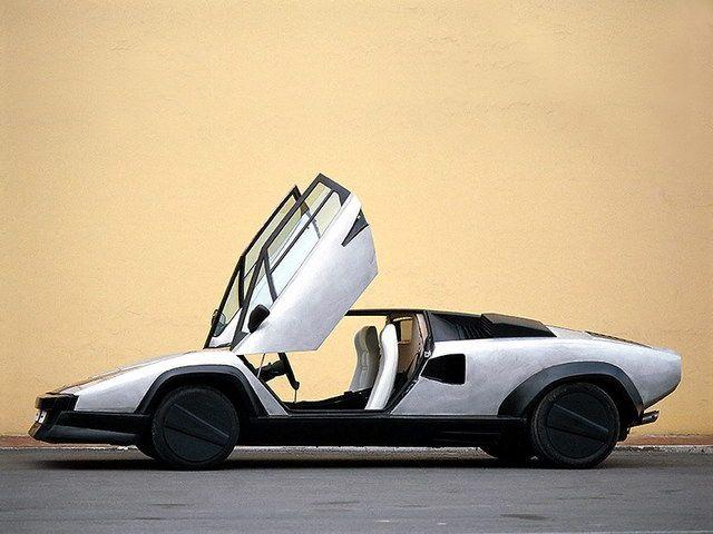 Lamborghini Countach Evoluzione Concept 1987 Lamborghini