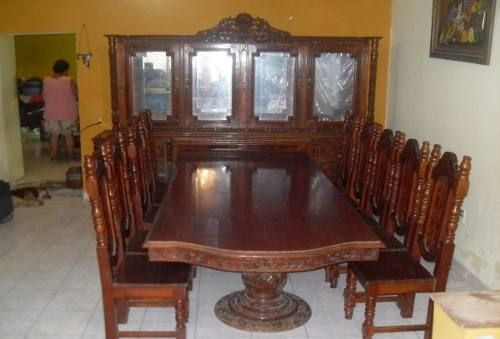 Unico Comedor Colonial De 10 Sillas 1207036 USD Mexico