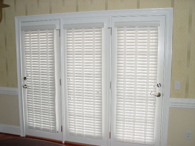 Two Inch Blinds On French Patio Doors Blinds For French Doors Blinds French Doors Patio