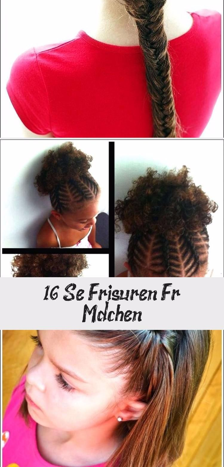 16 süße frisuren für mädchen #frisuren #madchen trends #