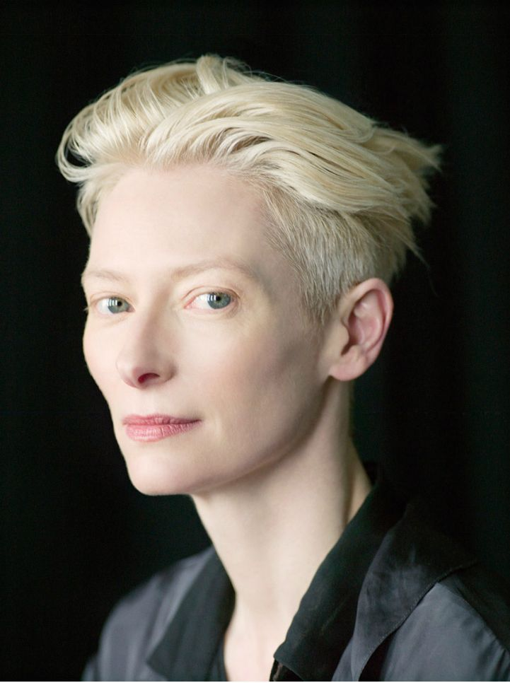 """The other day, I was going through the airport security and I was searched by a male security guard. I'm very often referred to as ""Sir"" in elevators and such. I think it has to do with being this tall and not wearing much lipstick. I think people just can't imagine I'd be a woman if I look like this"" Tilda Swinton"