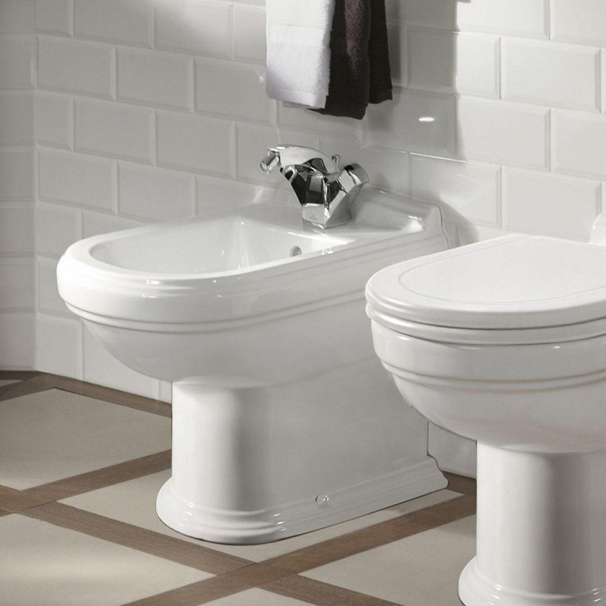 Villeroy And Boch Hommage Floor Standing Bidet In 2020 Bathroom