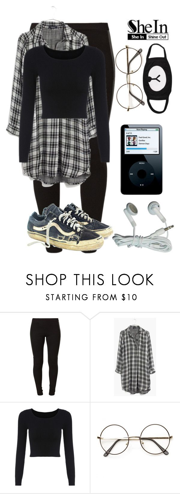 """Sin título #888"" by jessy-693 ❤ liked on Polyvore featuring Vero Moda, Madewell, Vans and ZeroUV"