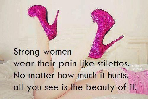 27067351 strong women quotes quote shoes truth girly quotes high heels quotes and  sayings image quotes