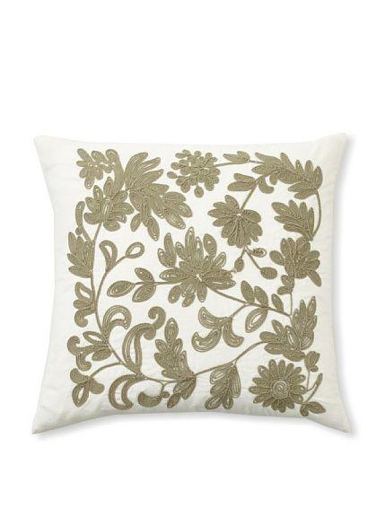 Design Accents Soutache Floral Pillow at MYHABIT