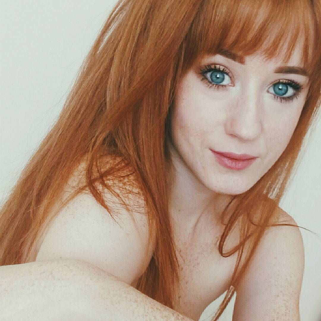 skin redhead pale