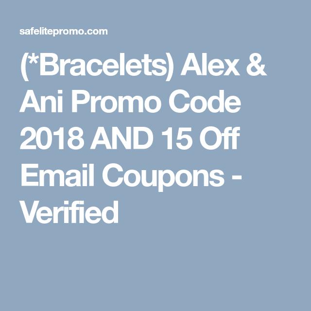 alex and ani coupon
