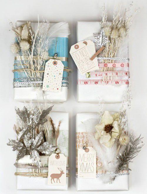 Ideas para envolver regalos de forma original Empaques Pinterest
