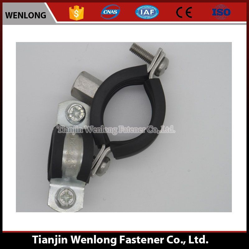 The factory production stainless steel rubber hose clamp
