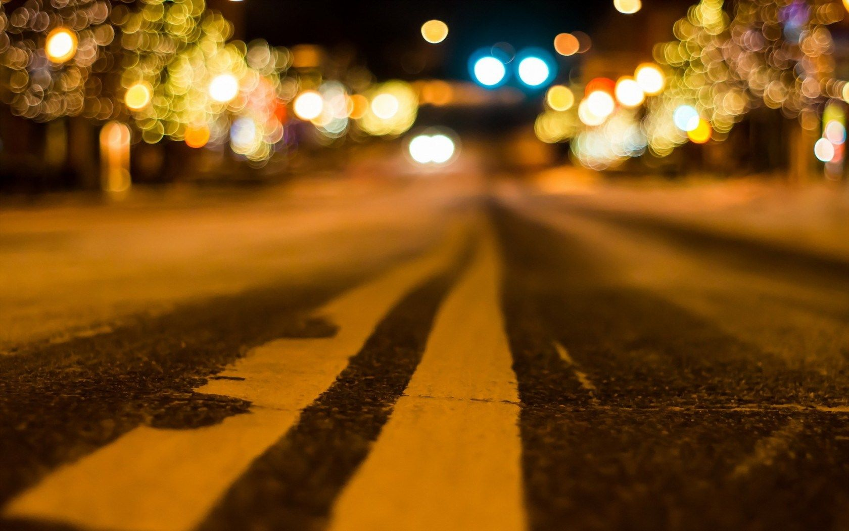 city street lights night - photo #19