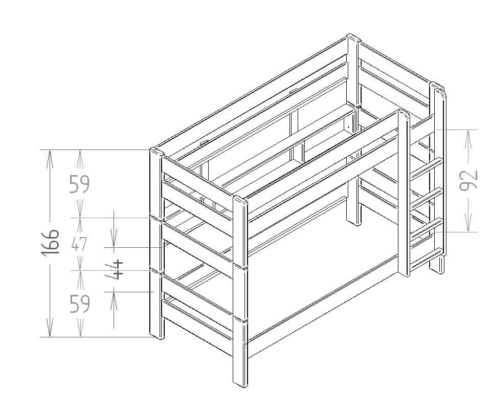 fabriquer un lit superposé - Recherche Google deco maison